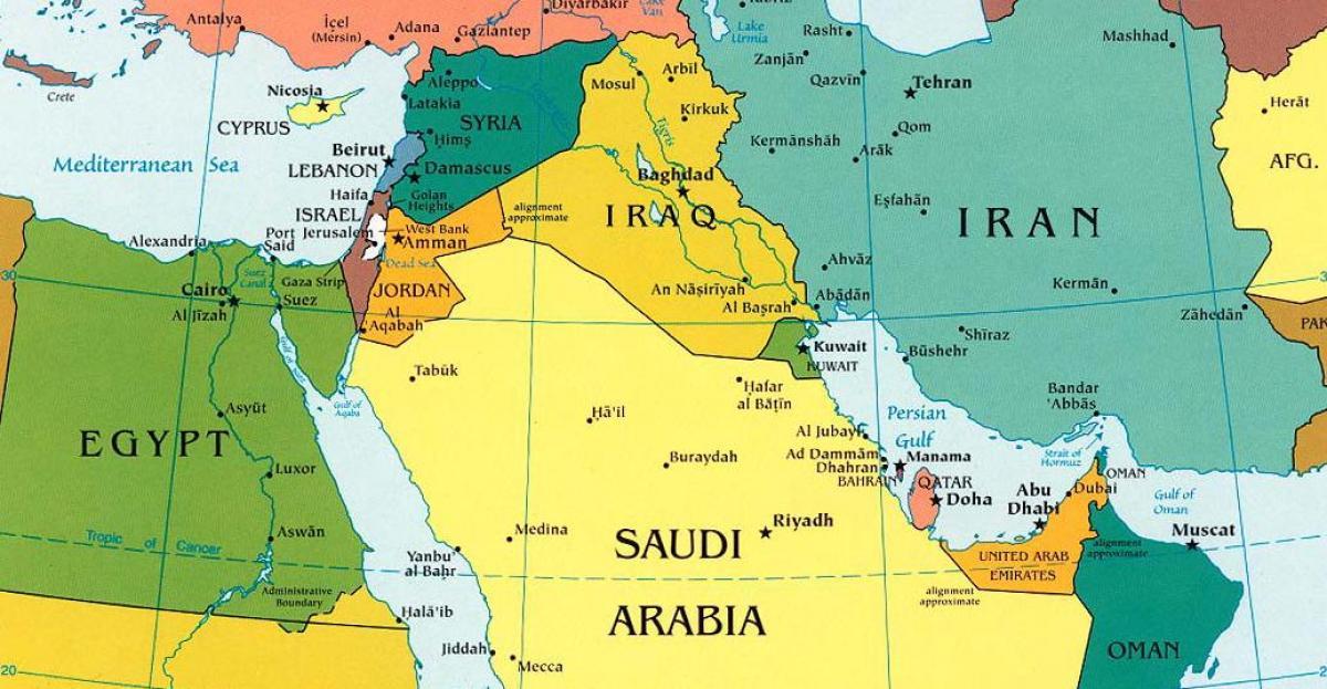 Asien Länder Karte.Karte Von Saudi Arabien Und Den Umliegenden Ländern Karte Saudi